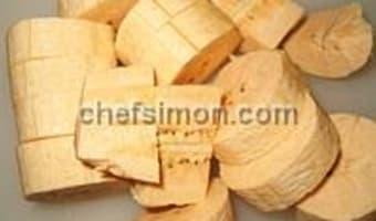 Banane plantain frite ou sautée - Etape 3