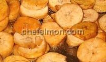 Banane plantain frite ou sautée - Etape 7