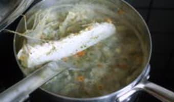Curry vert de lotte - Etape 2