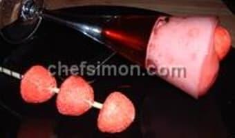 Mousse et gelée de fraises Tagada - Etape 8
