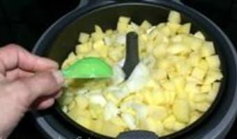 Actifry : la friteuse qui frite sans huile - Etape 2