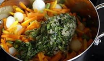 Salade cuite en chiffonnade - Etape 9