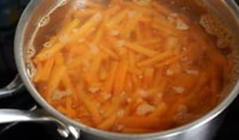 Jardinière de légumes : la préparation des légumes - Etape 3