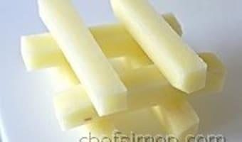 Tailles des pommes de terre - Etape 9