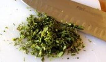 Risotto aux champignons - Etape 2