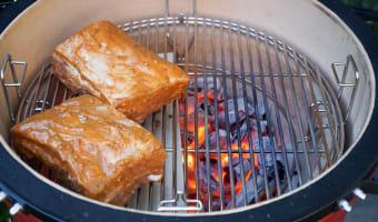 Travers de porc au barbecue - Etape 7