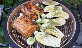 Travers de porc au barbecue - Etape 9