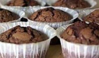 Cupcakes chocolat noir - Etape 6