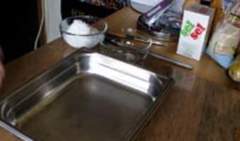 Gravlax de saumon - Etape 1
