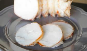 Médaillons de langouste et linguine au sabayon - Etape 4