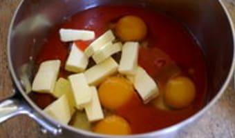 Lemon curd - Etape 3