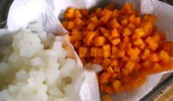 Macédoine de légumes - Etape 5