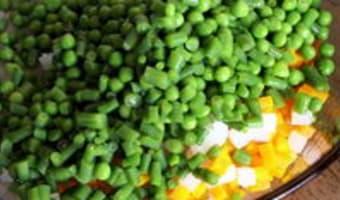 Macédoine de légumes - Etape 7