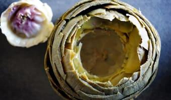 Artichaut à la vinaigrette - Etape 10