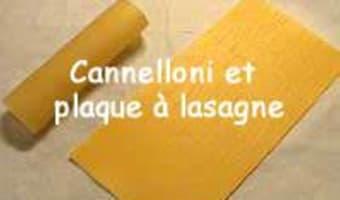 Former et farcir les cannelloni - Etape 1