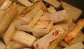 Céleri cuit de deux façons - Etape 5