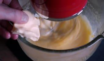 Crème au beurre - Etape 8