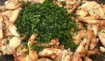 Cuisses de grenouilles sautées - Etape 9