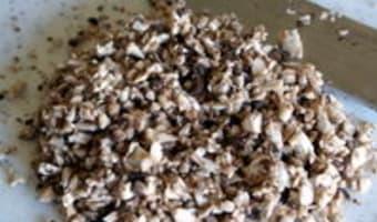 Taille des champignons - Etape 4