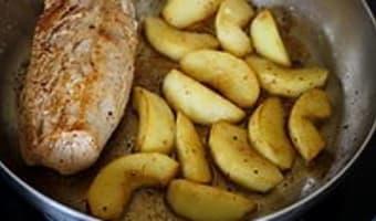 Filet mignon aux pommes et au cidre - Etape 5
