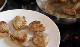 Filet mignon au poivre - Etape 6