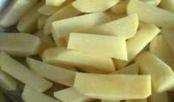 Tailles des pommes de terre - Etape 5
