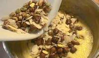 Petits moelleux au miel et fruits secs - Etape 7