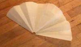 Découper un disque de papier sulfurisé - Etape 9