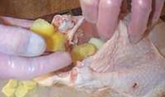 Poulet au citron confit et gingembre - Etape 3