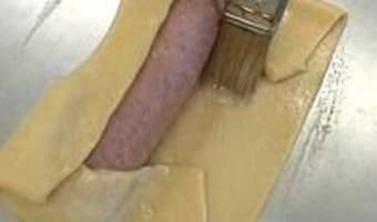 Saucisson en brioche - Etape 8