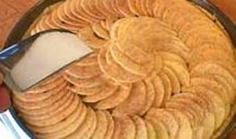 Tarte fine aux pommes - Etape 10