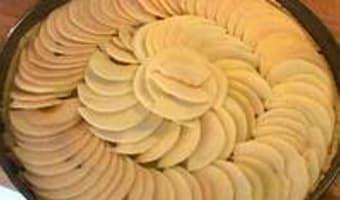 Tarte fine aux pommes - Etape 9