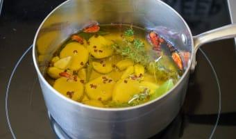 Achards de citrons et gingembre - Etape 7