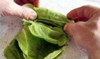 Ciseler les aromatiques et légumes feuilles - Etape 3