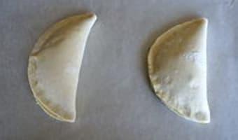 Chaussons aux fruits de mer - Etape 8