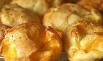 Gougères à la mimolette - Etape 12