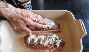 Magret de canard séché au sel - Etape 3