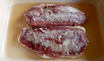 Magret de canard séché au sel - Etape 5