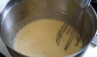 Crème brûlée - Etape 4