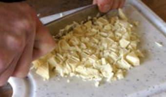 Samoussas framboises chocolat blanc - Etape 4