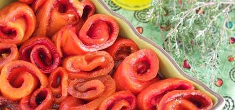 Le dimanche tous les poivrons sont verts. ou rouges. ou jaunes.