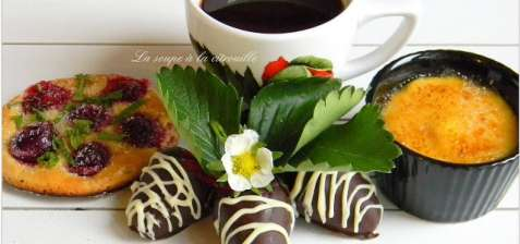 Le moment du café gourmand