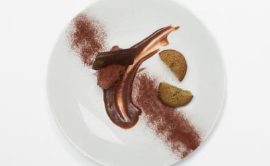 Tuiles de chocolat