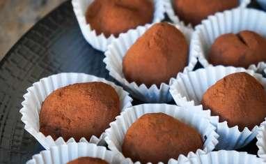 Truffes chocolat gingembre et poivre