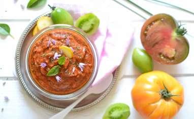 Dip gourmand tomate poivron