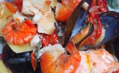 C'est toujours la fête avec les poissons et fruits de mer