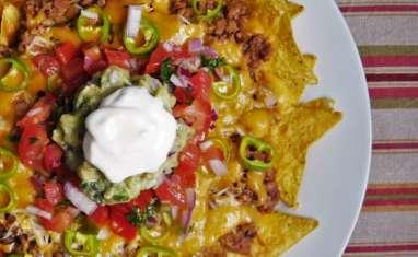 Nachos au Boeuf et Salsa Mexicaine