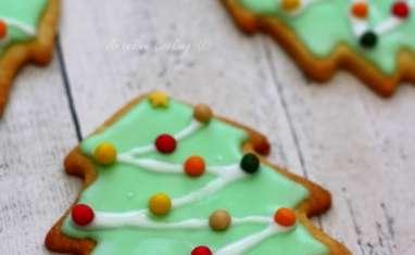 """Biscuits """"sapin de Noël"""""""