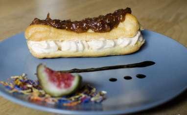 Eclairs à la figue et au foie gras