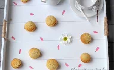 Whoopies au lemon curd
